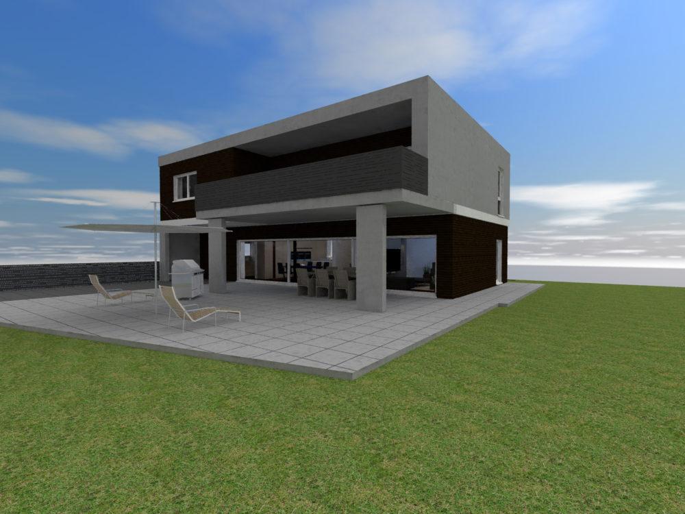 Visualisierung Haus