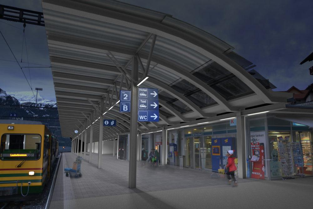 Visualisierung Bahnhof