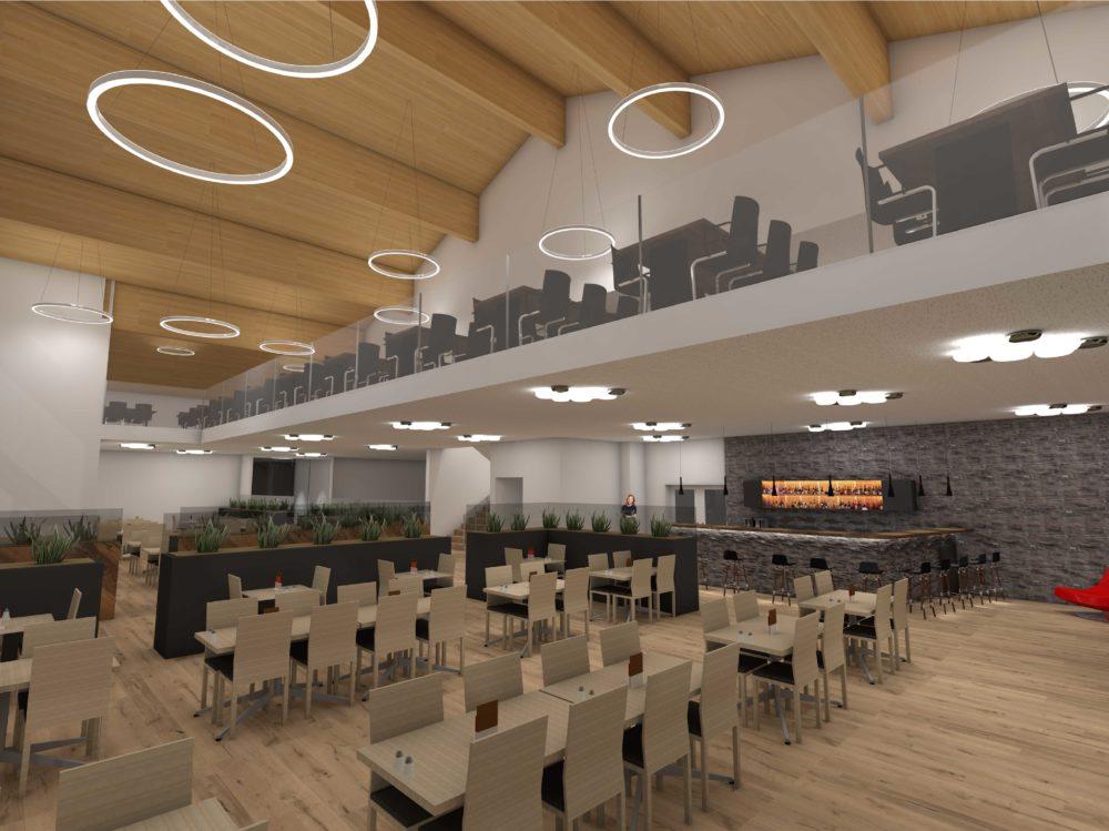 Visualisierung Restaurant