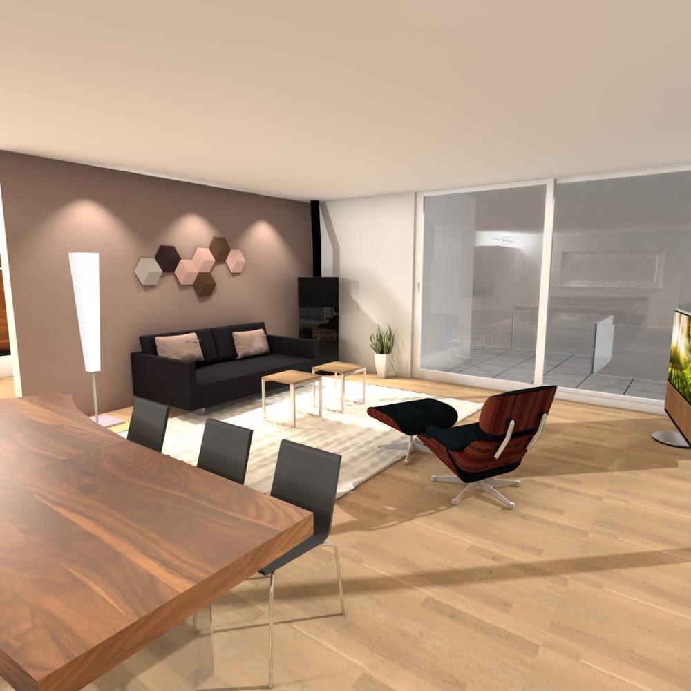 Visualisierung Sofa