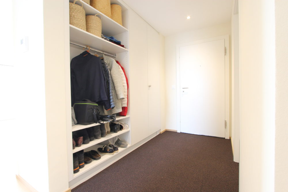 Garderobe Planung